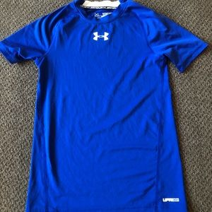 Boy's Under Armour Fitted Shirt UPF 30